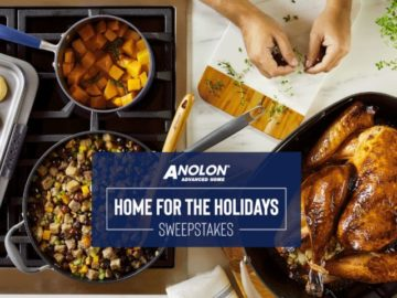 Anolon Gourmet Cookware Home for the Holidays Sweepstakes