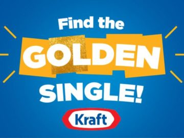 Kraft Golden Singles Walmart Sweepstakes