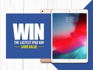 Spy Associates Apple iPad Sweepstakes
