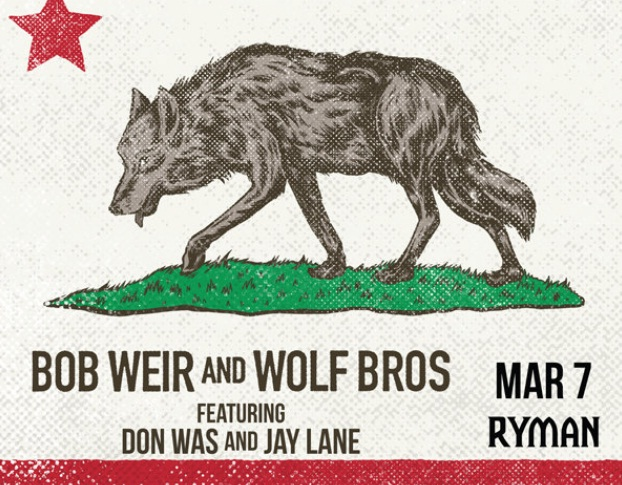 Bob Weir And The Wolf Bros Sweepstakes
