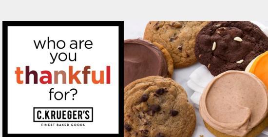 C.Kruegers Thanksgiving Giveaway
