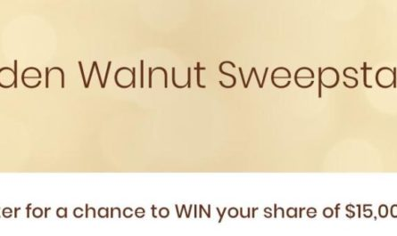 California Walnut Golden Walnut Sweepstakes