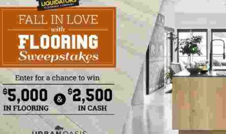 DIY Network Fall in Love With Flooring Sweepstakes