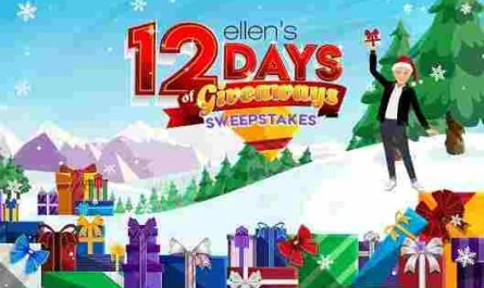 Ellen Shop 12 Days of Giveaways Trip Sweepstakes