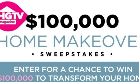 $100000 Home Makeover Sweepstakes