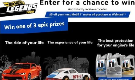 Hot Wheels Legends Tour Sweepstakes