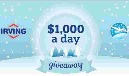 Irving Oil $1000 A Day Giveaway