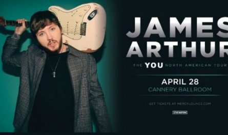 James Arthur Online Sweepstakes