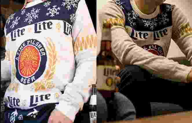 Miller Lite Holiday Sweater Sweepstakes