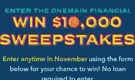 One main Financial Win $10000 Sweepstakes