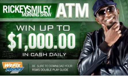Rickey Smiley ATM Contest 2019