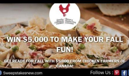 Chicken Farmers of Canada $5000 Holiday Helper Contest