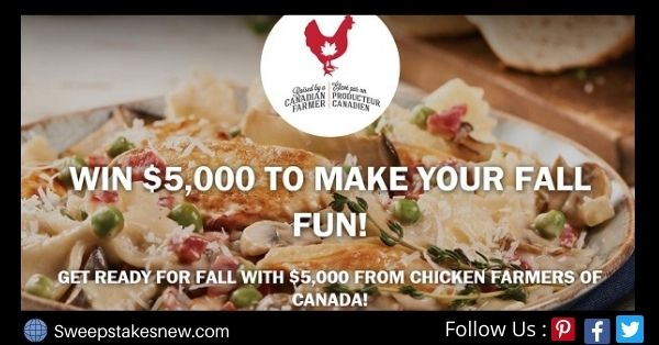 Chicken Farmers of Canada $5000 Holiday Helper Contest