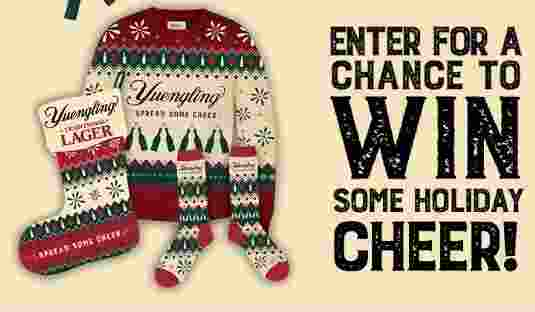 Yuengling Spread Some Cheer Sweepstakes