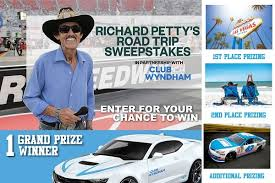 Richard Petty's Road Trip Sweepstakes