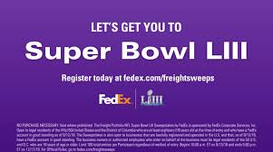 FedEx Super Bowl Sweepstakes