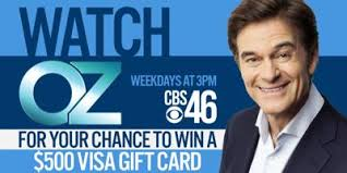 WGCL-TV/WPCH-TV Dr. Oz Show Code Word Sweepstakes