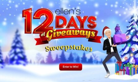 Ellenshop.com 12 Days of Sweepstakes