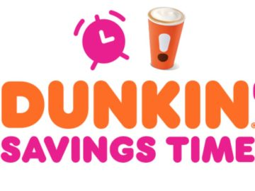 Dunkin Fall Savings Time