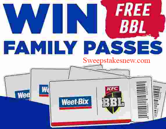 Weet-Bix BBL Family Pass Competition