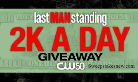 CW50 Detroit Last Man Standing $2K A Day Giveaway