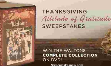 INSP Thanksgiving Attitude of Gratitude Sweepstakes