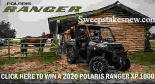 Polaris Ranger Most Driven Team Award Sweepstakes