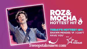 KISS 92.5 Roz & Mocha Hottest Hit With Air Transat Contest