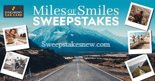 Synchrony Bank Miles of Smiles Sweepstakes & Instant Win Game