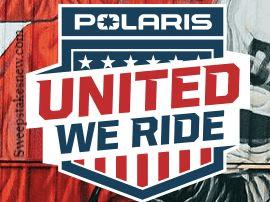 Polaris United We Ride Sweepstakes
