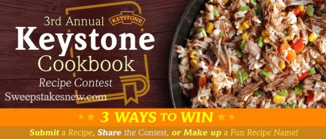 Keystone Meats Cookbook Sweepstakes