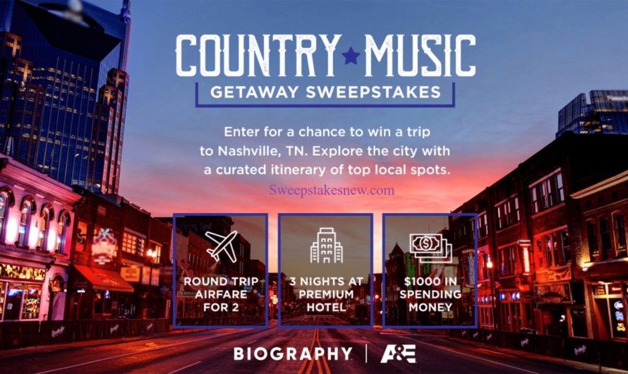 A&E Country Music Getaway Sweepstakes