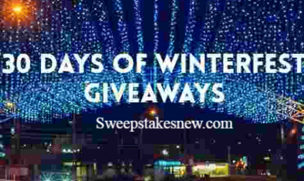Smoky Mountain 30 Days of Winterfest Giveaways