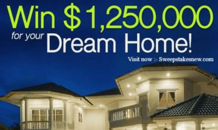 PCH.com $1250000 Dream Home Giveaway