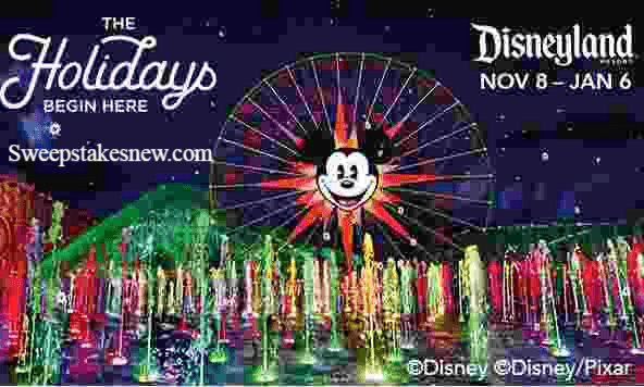 KOST 103.5 Private Holiday Party Disneyland Sweepstakes
