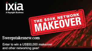 Ixia Network Makeover Sweepstakes