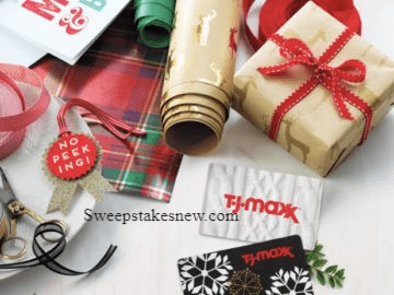 T.J.Maxx Holiday Sweepstakes