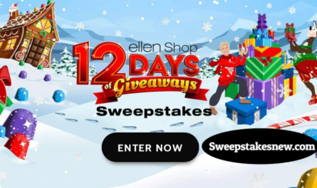 Ellen's 12 Days of Giveaways Sweepstakes