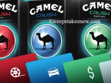 Camel Crush the Moment Instant Win and Sweepstakes