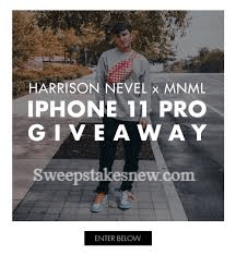 Harrison Nevel and MNML iPhone 11 Pro Giveaway