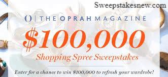 Oprah Magazine $100000 Dream Big Sweepstakes