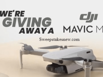 Beach Camera DJI Mavic Mini Drone Giveaway