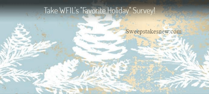 Take WFIL Favorite Holiday Survey Sweepstakes