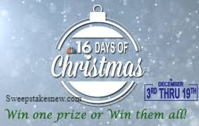 NBC16 16 Days of Christmas Contest