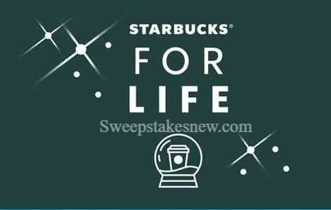 Starbucks For Life Holiday Edition Instant Win Game Sweepstakes