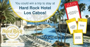 Hard Rock Hotel All-Inclusive Sweepstakes