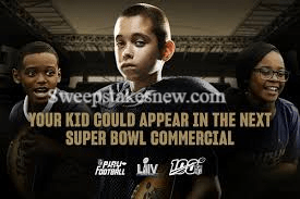 Play Football NFL Super Bowl Kids Contest