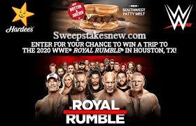WWE Hardees Sweepstakes