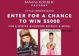 Banana Republic Factory Style Sweepstakes