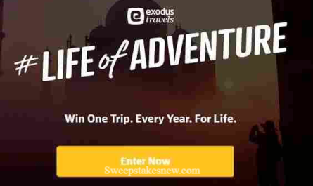 Exodus Life of Adventure Sweepstakes